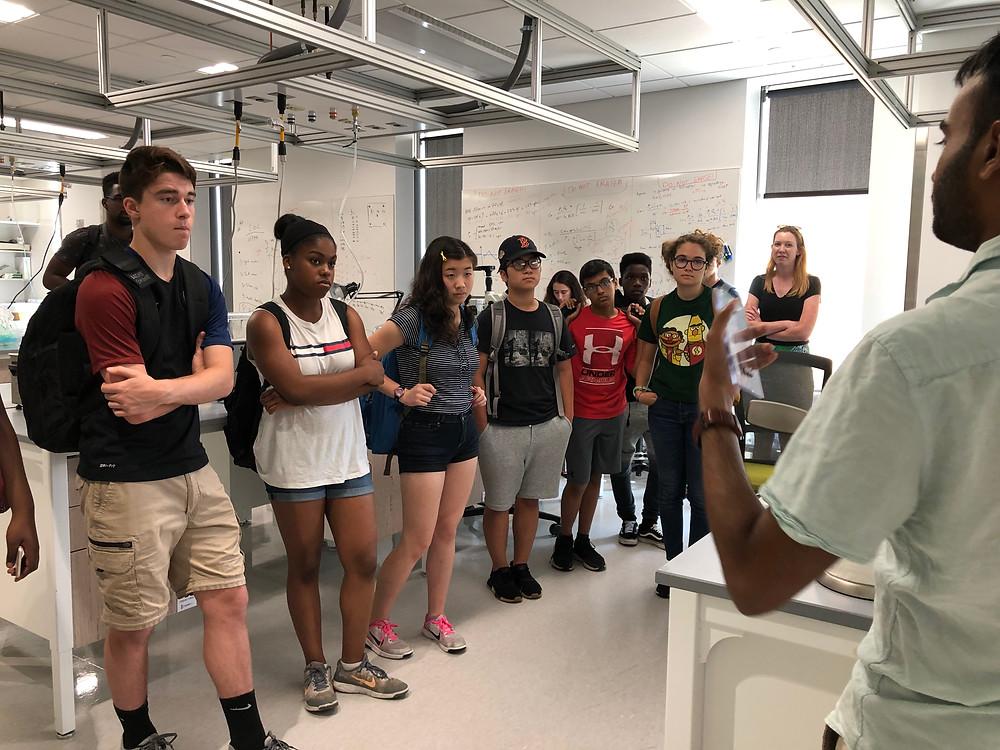 STEM Pathways - Lab Tour