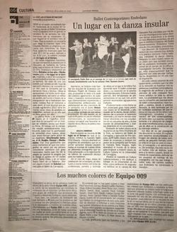 Juventud Rebelde Article