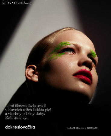 Vogue Czechoslovakia July 2019