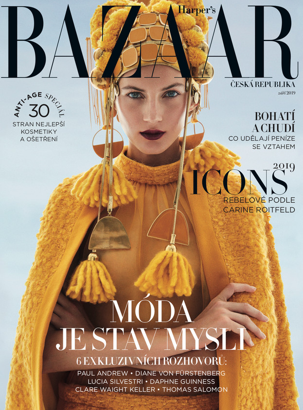 Harper's Bazaar Czechoslovakia November 2019 September 2019