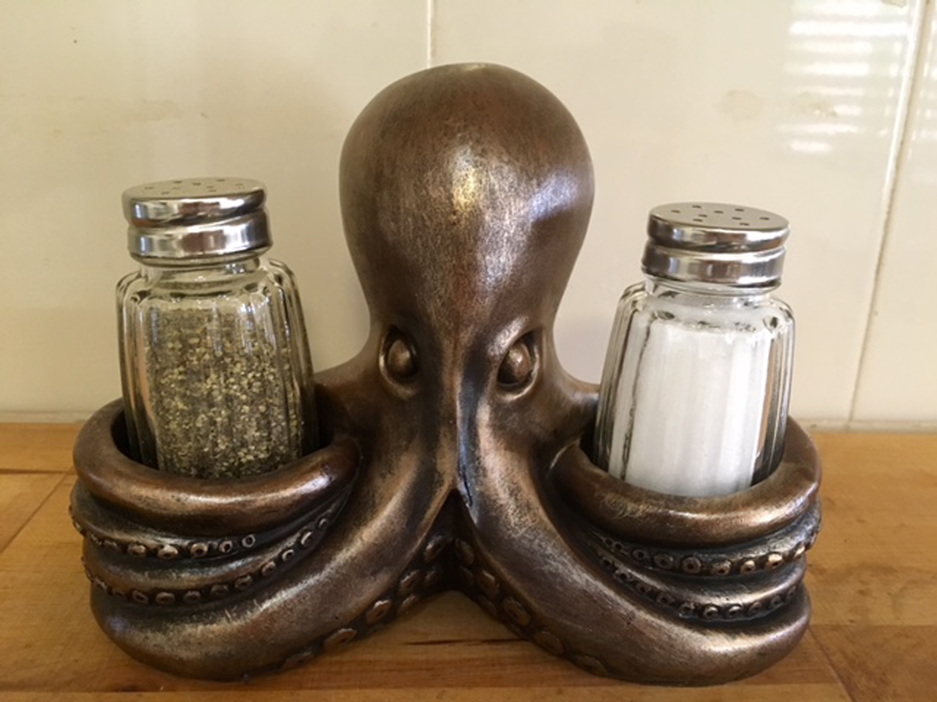 Salt and pepper?
