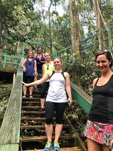 Hiking in Guajataca Forest