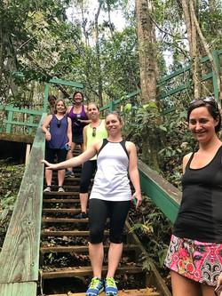 Hiking in Guajataca Forest