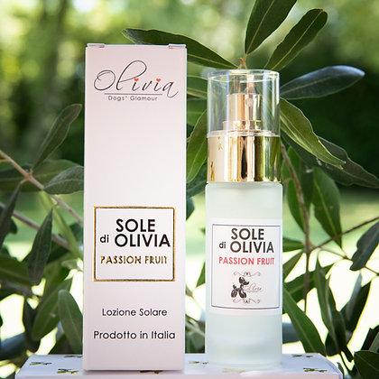 RIMEDIO di OLIVIA Lozione Solare Passion Fruit