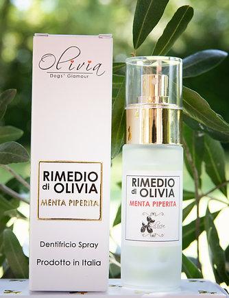 RIMEDIO di OLIVIA Dentifricio spray        - Menta Peperita