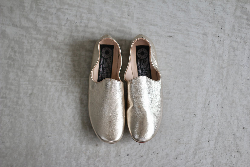 CP SLIP ON SHOES-Sheep leather
