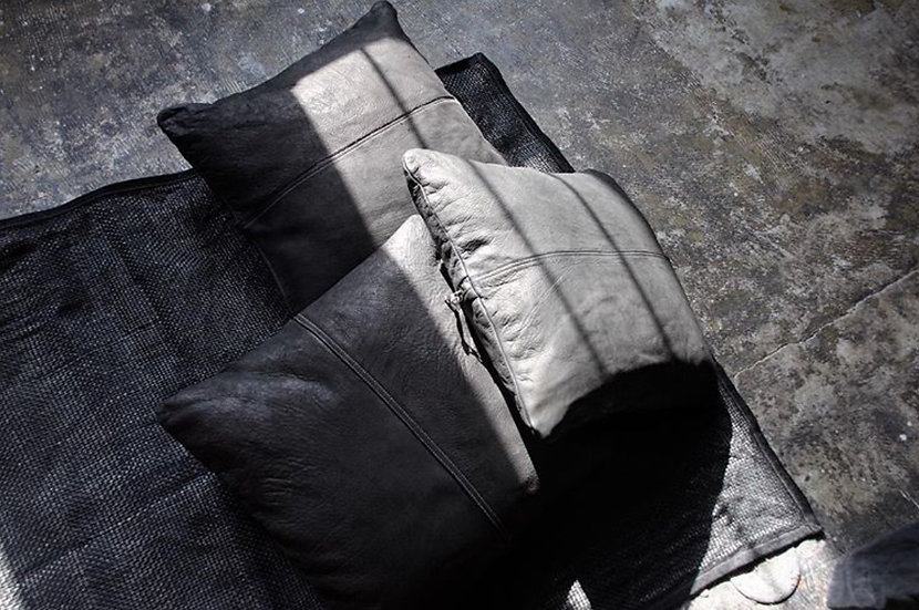 CP LEATHER CUSHION COVER