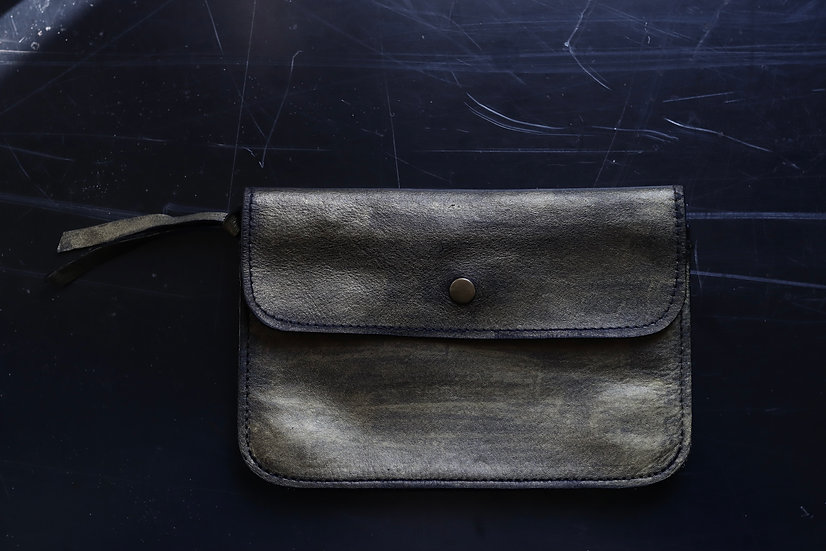 CP W/S WALLET M -Gold painted