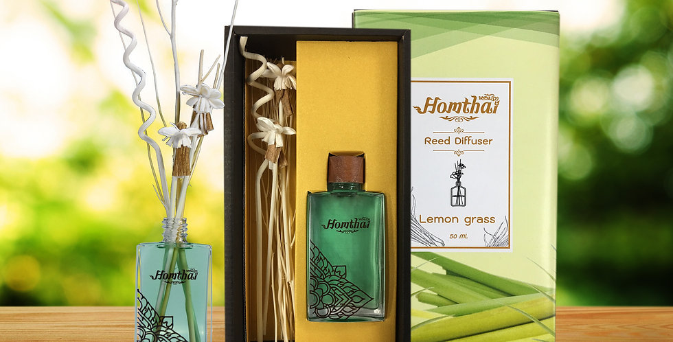 "Reed Diffuser ""Lemongrass"""