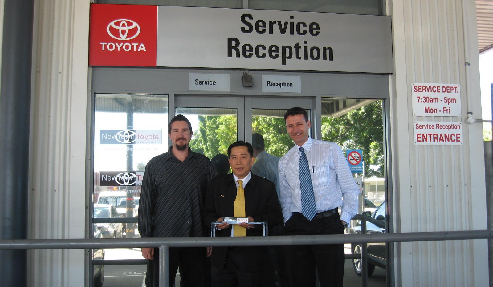 Toyota Certificate