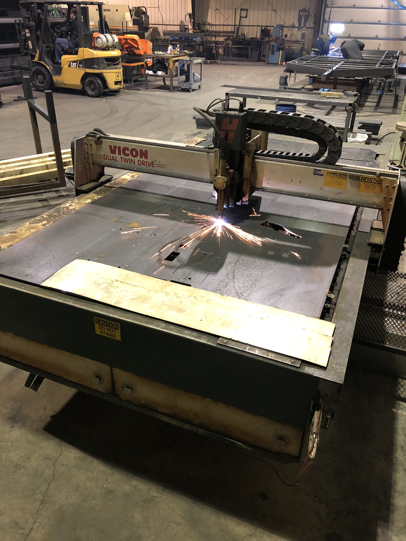 CNC torch table