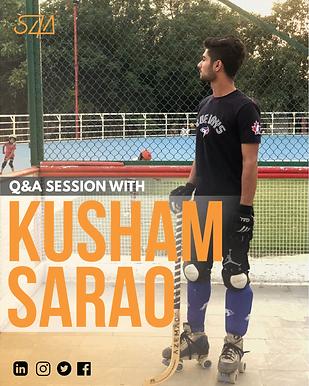 Q&A session with Kusham Sarao