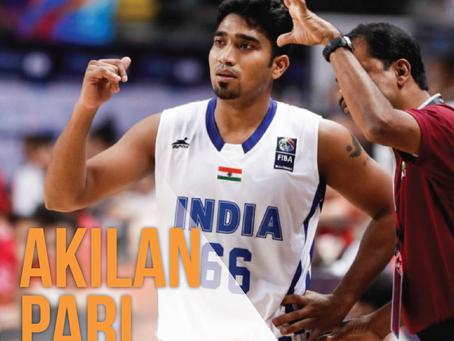 Akilan Pari - India's Leading Basketball Player