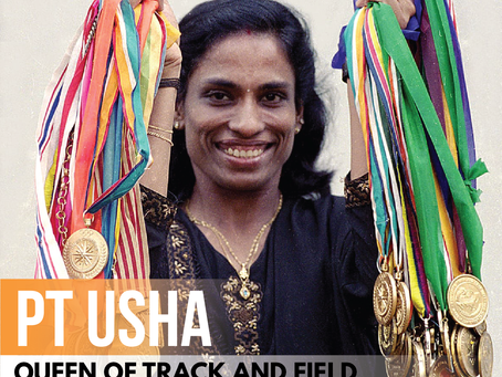 PT Usha - Queen of Track and Field