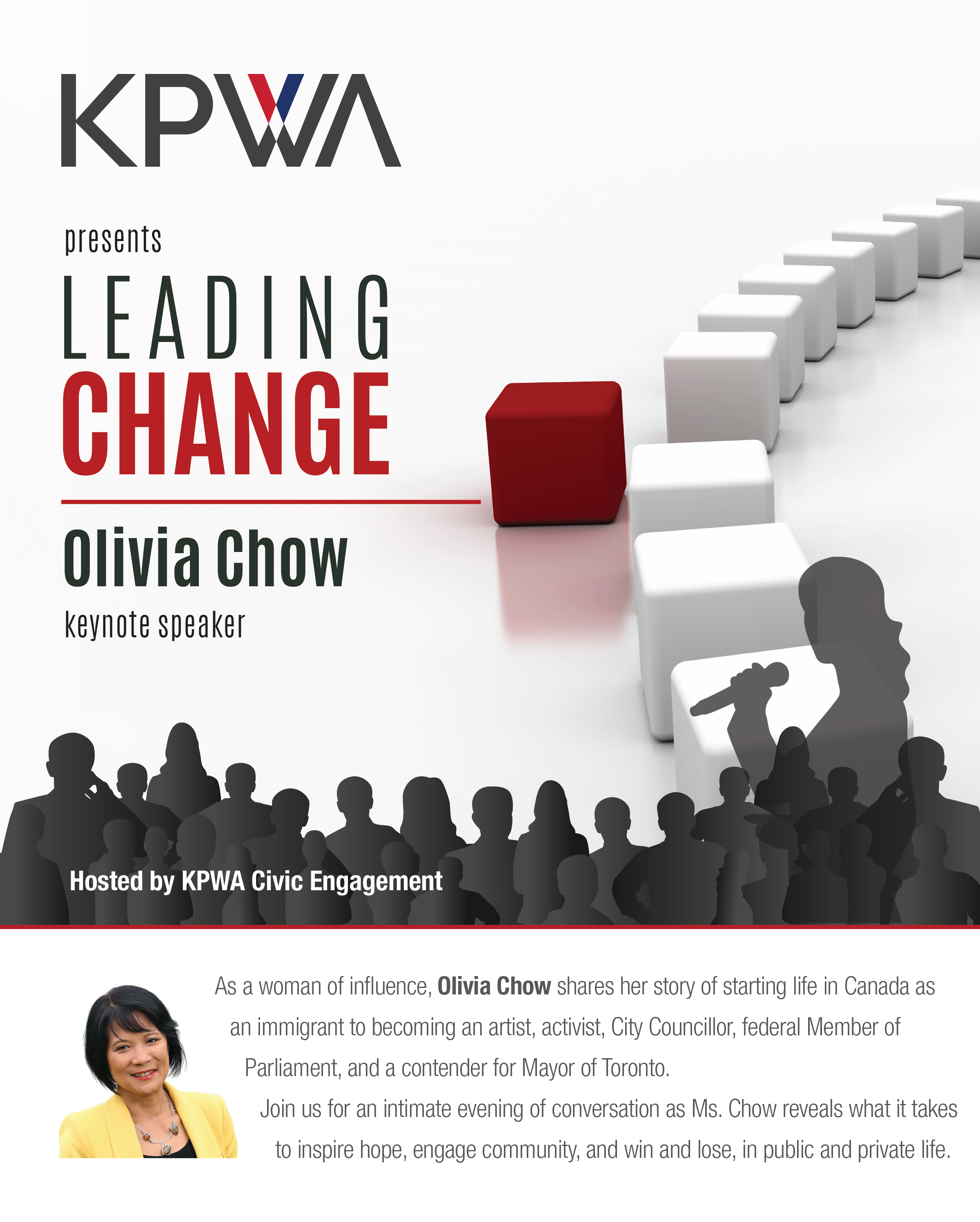 Leading Change ft. Olivia Chow