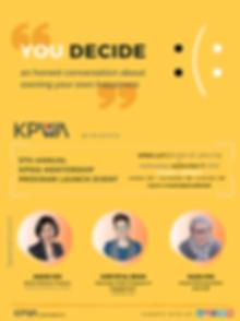 KPWA MP Lanch Event - You Decide (final