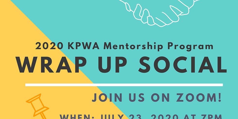 2020 KPWA Mentorship Program Wrap Up Social