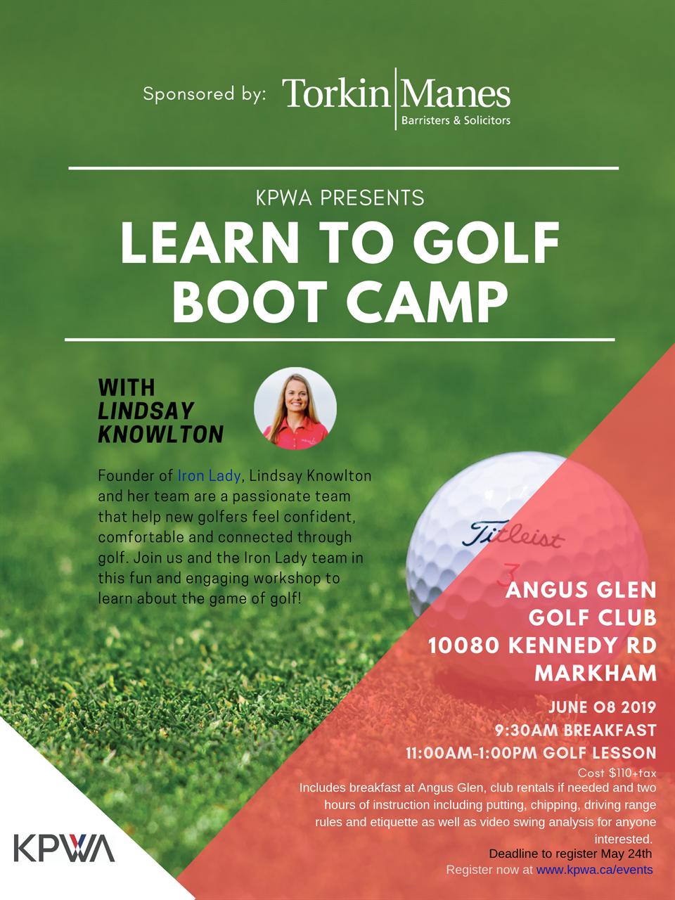 KPWA Golf