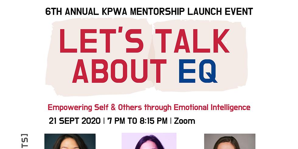 KPWA 6th Annual Mentorship Program Launch Event
