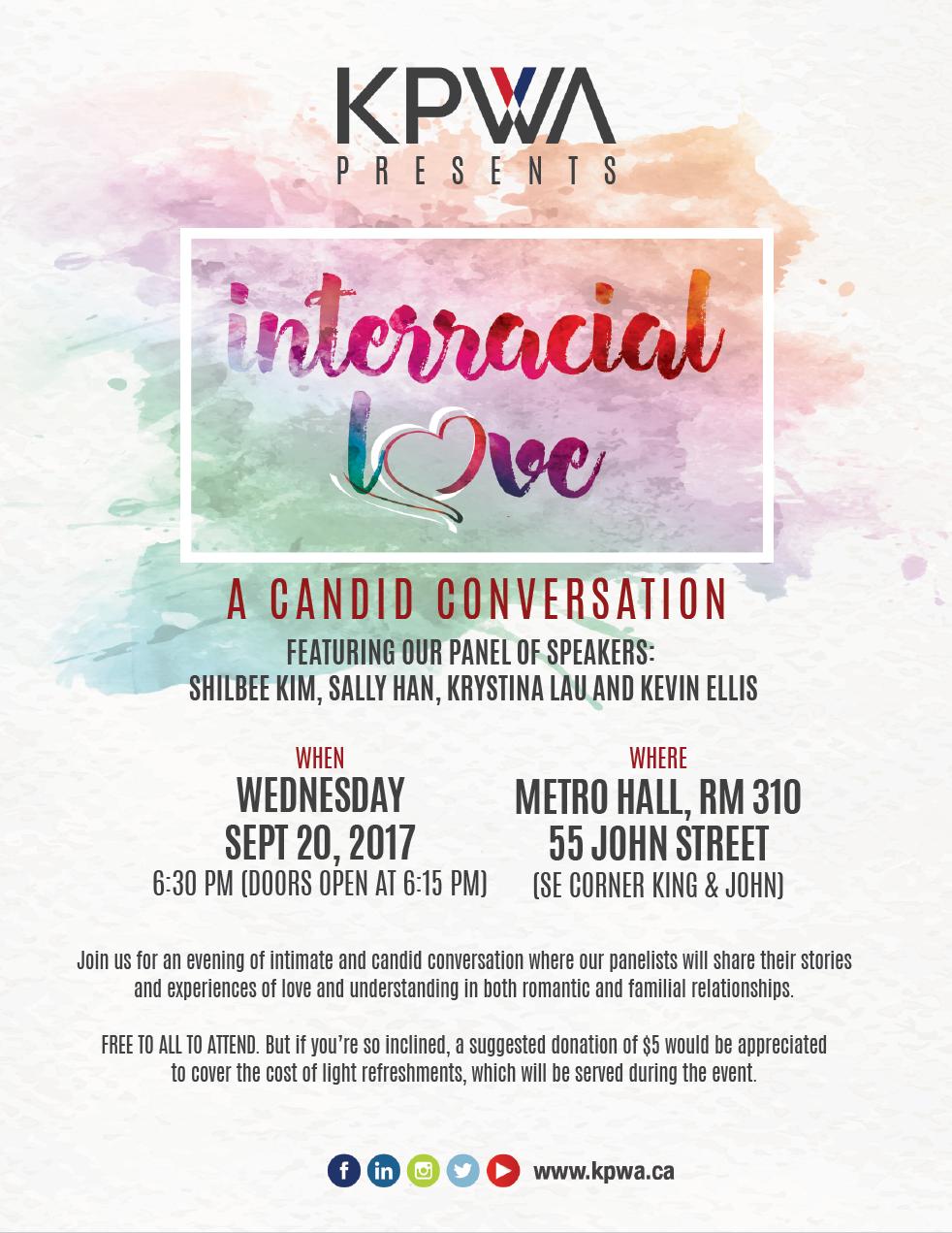 Interracial Love: A Candid Conversat
