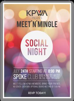 KPWA Member Social Night