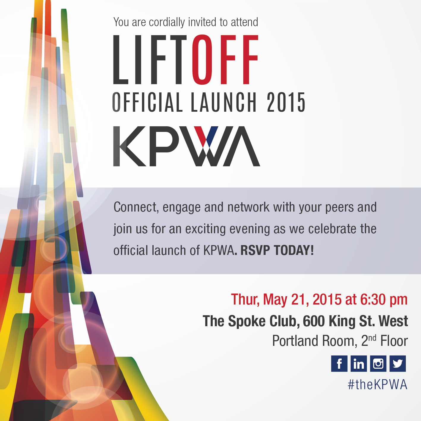 KPWA Launch: Lift Off!