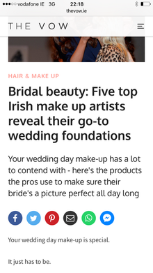 Nice little mention on The Vow. Independent.ie