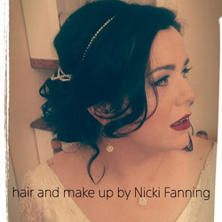 Hair & Make up by Nicki Fanning