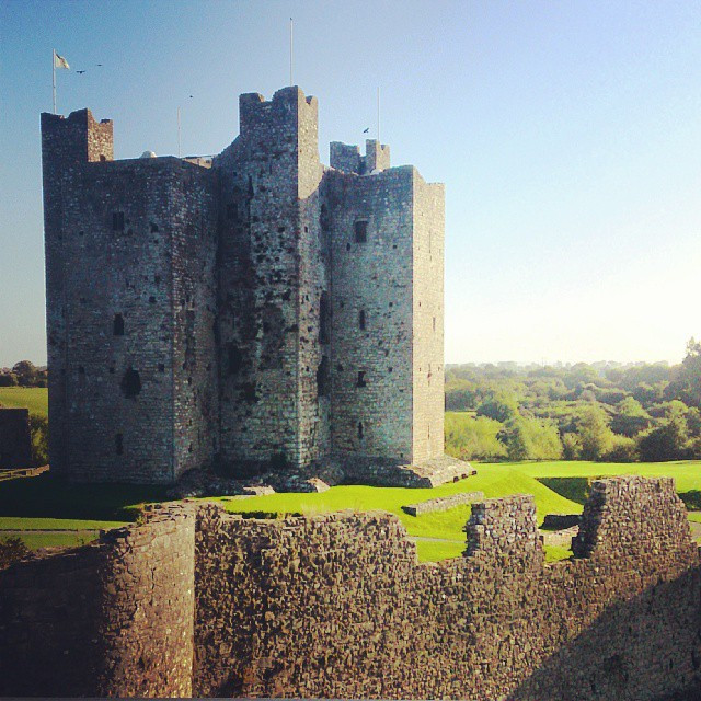 Instagram - What a view from  location of wedding this morning today #trimcastle