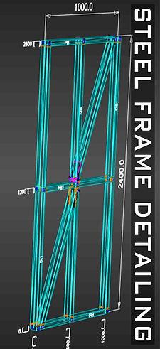 Pegasus 3D Detailer Steel Frame Detailing Software