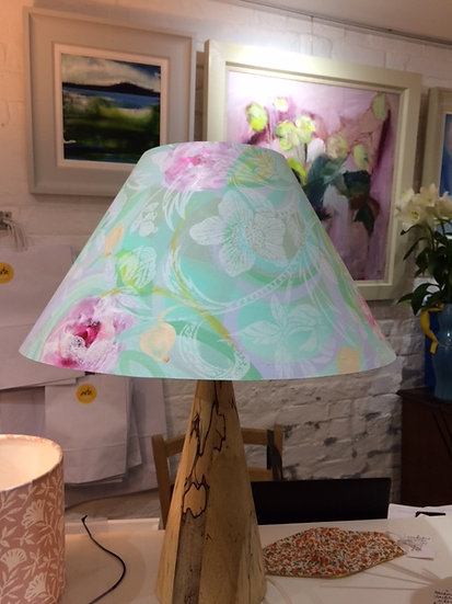 Large Coolie Lampshade