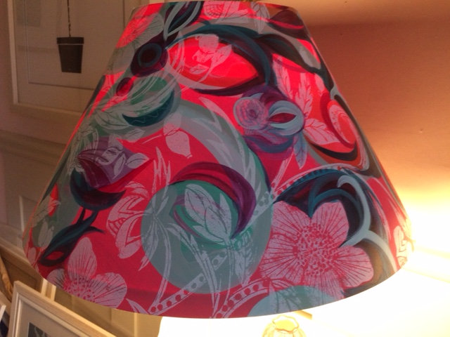 Large Coolie Lampshade by Sue Holman