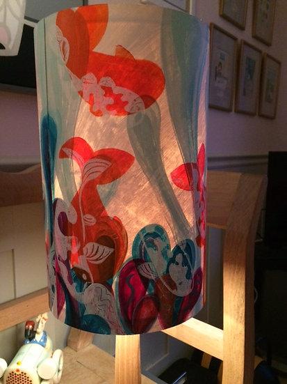 Goldfish lampshade