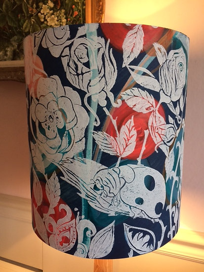 Lady bird in the roses Lampshade