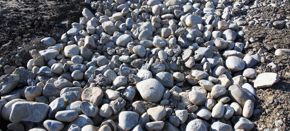 Steingruben für Amphibien
