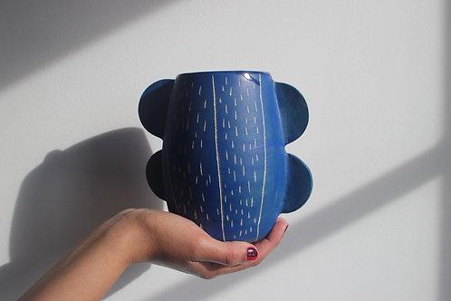 Vase à Oreilles graphique moyen