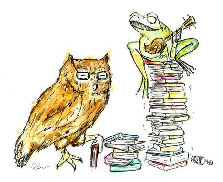 Frog & Owl (Books)