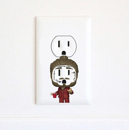Post Malone - Hip Hop - Stoney - Rockstar - Electrc Wall Art Sticker