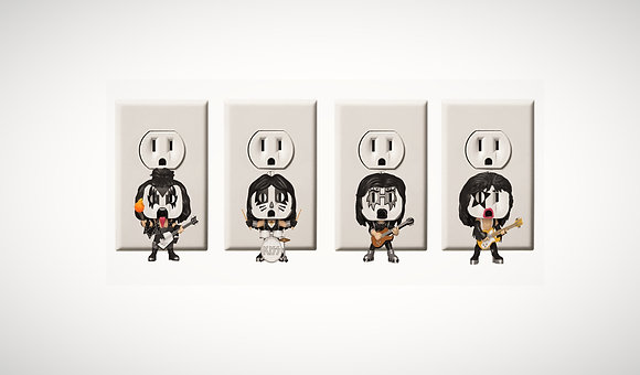 KISS - Rock Band - Gene Simmons - Eric Singer - Tommy Thayer - Paul Stanley