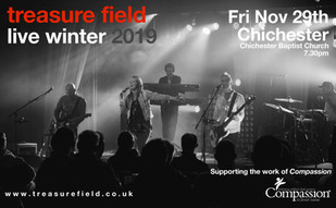 The band are live in West Sussex very soon!