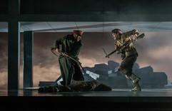 Battle Scene - Silent Night