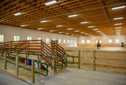 Strongwater Farm Equestrian Riding Arena