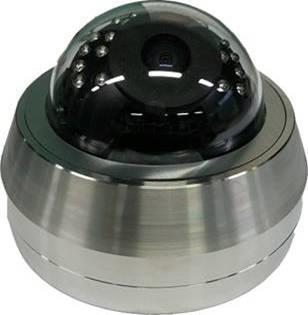 Caméra dôme avec IR - SS316 IP - CC06