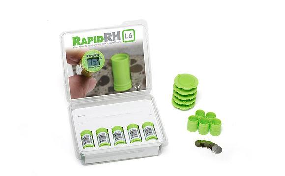 L'ensemble de 5 capteurs intelligents Smart Sensor pour le Rapid RH® L6