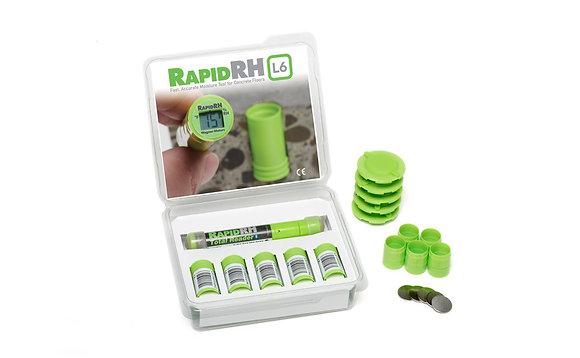Smart Sensor 5 Pack with Total Reader® for Rapid RH® L6