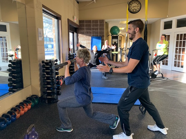 MACE BELL LUNGES