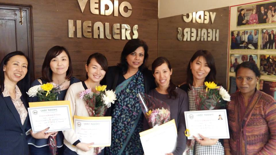 Certificate Ayurveda Basic Course Grdauation Ceremony