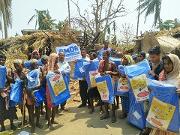 Tent donation, sadar block, Puri dist.pn