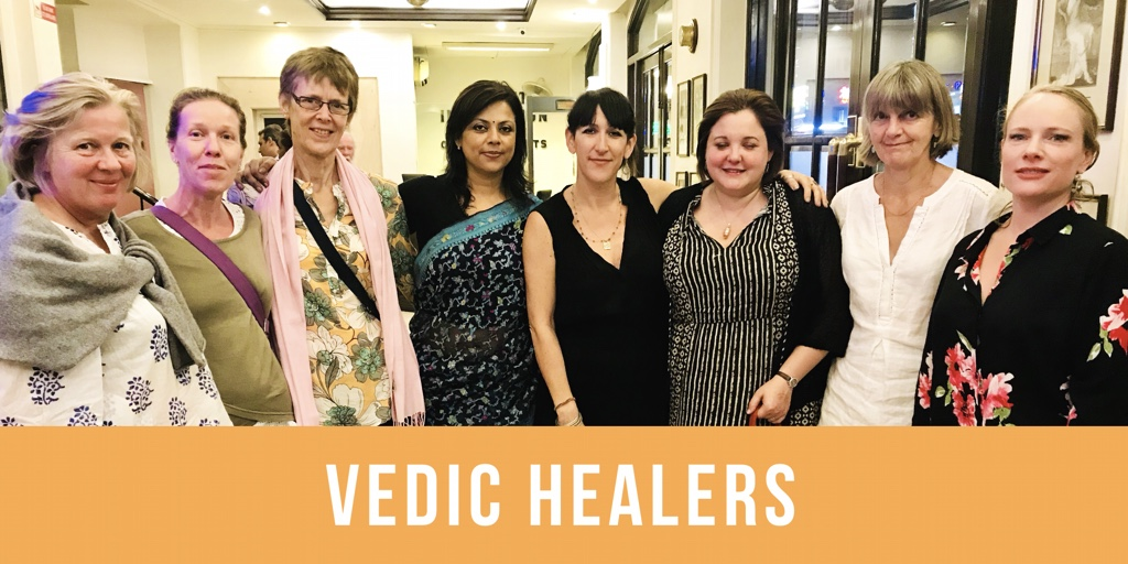 Vedic Healers Ayurveda Training Students from UK