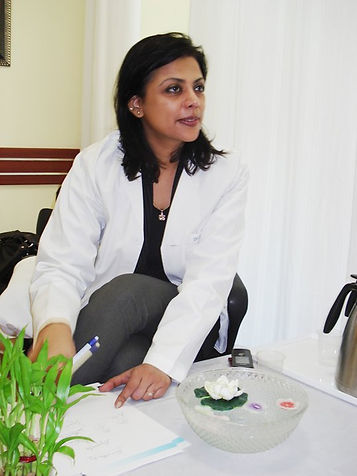 Dr Meenakshi Joshi at Consultation